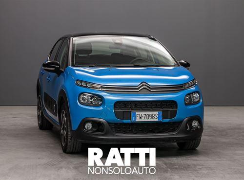 CITROEN C3 PureTech 1.2 82CV S&S Shine COBALT BLUE cambio Manuale Benzina