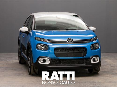CITROEN C3 PureTech 1.2 110CV S&S EAT6 Shine COBALT BLU cambio Automatico Benzina