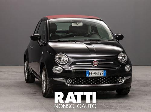 FIAT 500 C 1.2 69cv Lounge  NERO VESUVIO METALLIZZATO cambio Manuale Benzina