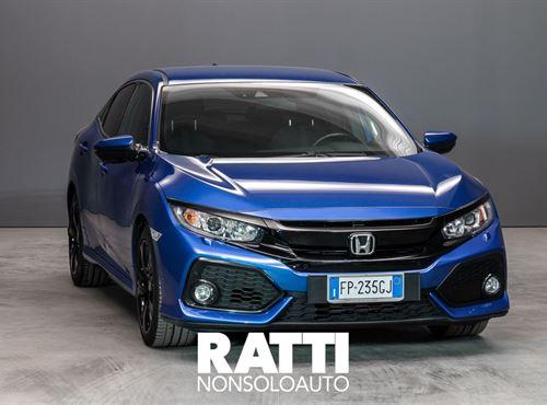 HONDA Civic 1.0 129CV T 5 porte Elegance Blu  cambio Manuale Benzina