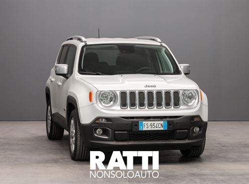 JEEP Renegade 1.6 Mjt 120 CV Limited Alphine White cambio Manuale Diesel