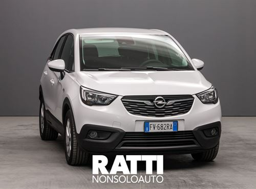 OPEL Crossland X 1.2 82 Advance OLYMPIC WHITE cambio Manuale Benzina