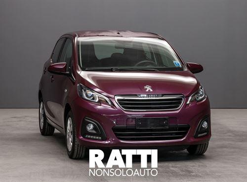 PEUGEOT 108 VTi 68 CV 5 porte Active Red Purple cambio Manuale Benzina