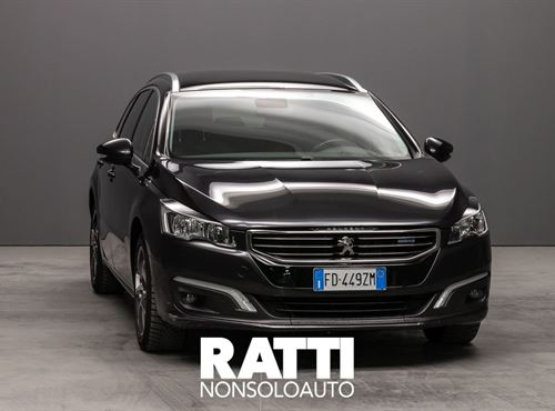 PEUGEOT 508 BlueHDi 180 EAT6 S&S SW Allure Nero  cambio Automatico Diesel