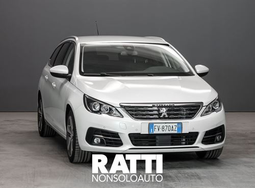 PEUGEOT 308 SW BlueHDi 1.5 130CV S&S Allure Bianco Madreperla cambio Manuale Diesel