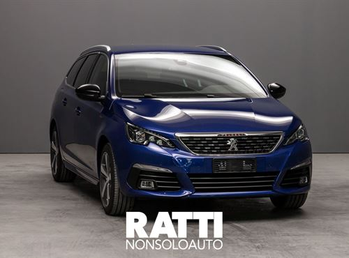 308 SW PureTech 1.2 130CV EAT8 S&S GT Line     Blu Magnetik cambio Automatico Benzina