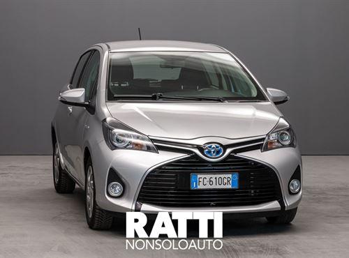 TOYOTA Yaris 1.5 75CV Hybrid 5 porte Cool Grigio Metallizzato  cambio Automatico Benzina + elettrica