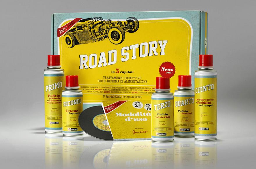 Road Story motore diesel