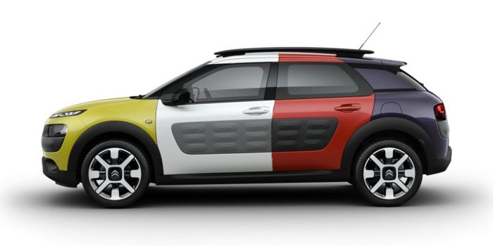 Citroen C4 Cactus: crossover colorato