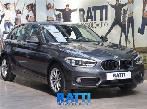 BMW Serie 1 F20 116i 116cv Pack GPS Advantage Mineral Grey  cambio Manuale Benzina Aziendale 5 porte 5 posti EURO 6