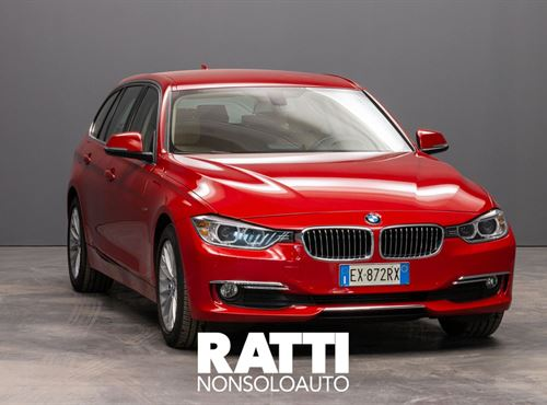 BMW 318d 2.0 143CV Touring Luxury  Melbourne Rot Met cambio Automatico Diesel