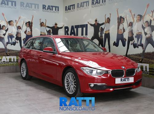 BMW 318d 2.0 135CV Touring Luxury  Melbourne Rot Met cambio Manuale Diesel Aziendale station wagon 5 porte 5 posti EURO 5