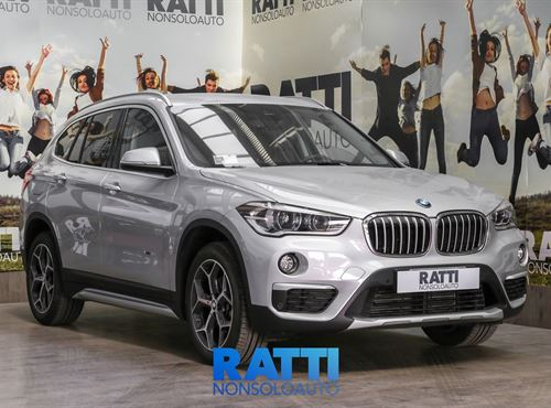 BMW X1 2.0 xDrive 150 CV Automatico GLACIERSILBER METALLIZZATO cambio Automatico Diesel Aziendale station wagon 5 porte 5 posti EURO 6