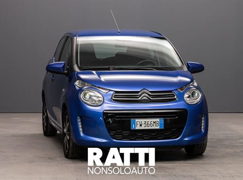 CITROEN C1 VTi 1.0 72CV ETG Shine BU CALVI cambio Automatico Benzina