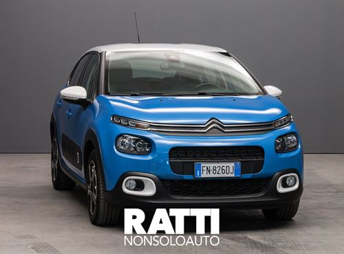 CITROEN C3 PureTech 1.2 82CV Shine COBALT BLUE cambio Manuale Benzina