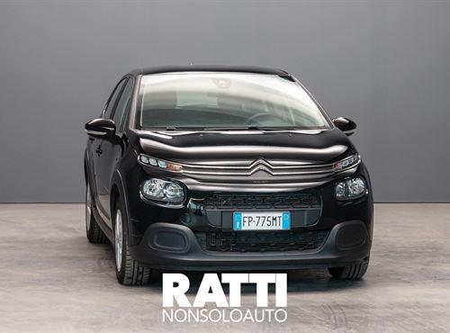 CITROEN C3 BlueHDi 1.6 75CV S&S Feel  Night Black  cambio Manuale Diesel Aziendale berlina due volumi 5 porte 5 posti EURO 6