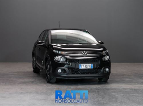 CITROEN C3 PureTech 1.2 82CV Shine NIGHT BLACK cambio Manuale Benzina Aziendale berlina due volumi 5 porte 5 posti EURO 6
