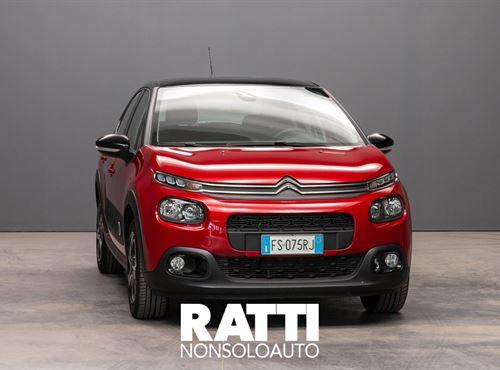 CITROEN C3 PureTech 1.2 82CV S&S Shine RUBY RED cambio Manuale Benzina