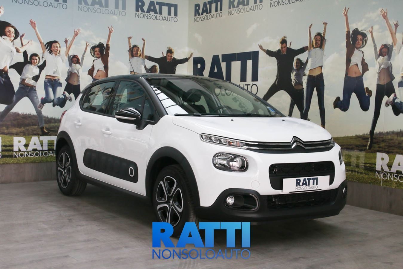 CITROEN C3 PureTech 1.2 82CV S&S Shine + Active Safety Brake Bianco  cambio Manuale Benzina Km 0 berlina due volumi 5 porte 5 posti EURO 6