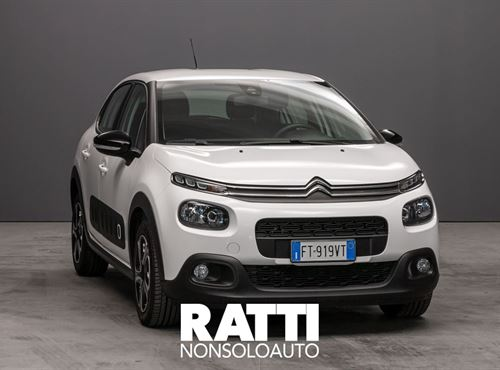 CITROEN C3 BlueHDi 1.5 100CV S&S Feel Bianco Banchisa  cambio Manuale Diesel