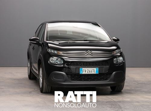 CITROEN C3 PureTech 1.2 82CV S&S Feel NIGHT BLACK cambio Manuale Benzina Aziendale berlina due volumi 5 porte 5 posti EURO 6