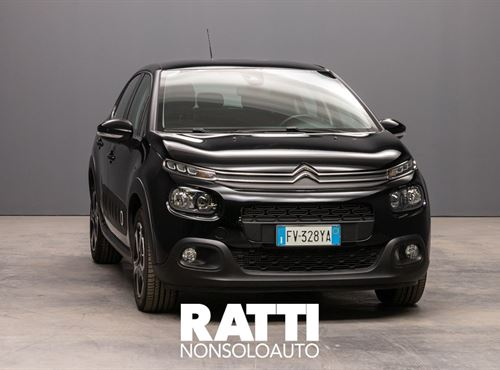 CITROEN C3 BlueHDi 1.5 100CV S&S Shine NIGHT BLACK cambio Manuale Diesel Aziendale berlina due volumi 5 porte 5 posti EURO 6
