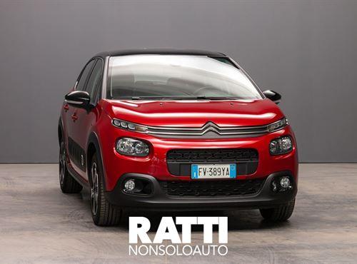 CITROEN C3 PureTech 1.2 82CV S&S Shine RUBY RED cambio Manuale Benzina Aziendale berlina due volumi 5 porte 5 posti EURO 6