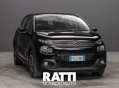 CITROEN C3 PureTech 1.2 110CV S&S EAT6 Shine NIGHT BLACK cambio Automatico Benzina