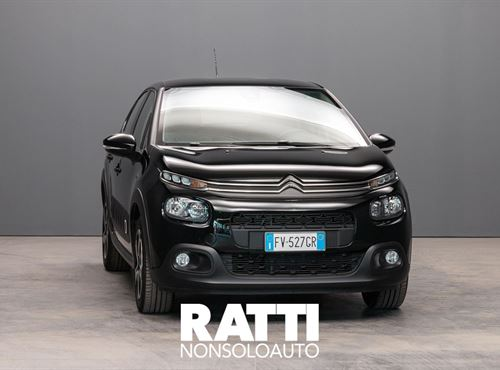 CITROEN C3 PureTech 1.2 82CV S&S Shine NIGHT BLACK cambio Manuale Benzina Aziendale berlina due volumi 5 porte 5 posti EURO 6