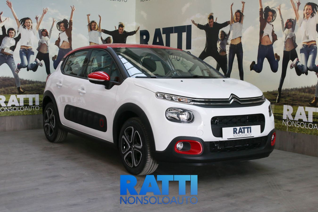 CITROEN C3 PureTech 1.2 82CV S&S Shine + Active Safety Brake Bianco Banchisa  cambio Manuale Benzina Km 0 berlina due volumi 5 porte 5 posti EURO 6