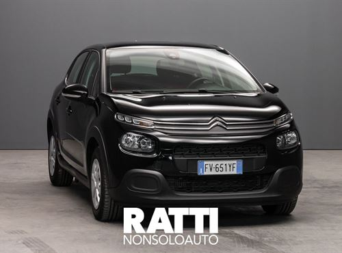 CITROEN C3 PureTech 1.2 110CV S&S EAT6 Feel NIGHT BLACK cambio Automatico Benzina