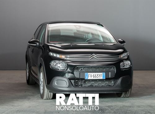 CITROEN C3 PureTech 1.2 110CV S&S EAT6 Feel NIGHT BLACK cambio Automatico Benzina Aziendale berlina due volumi 5 porte 5 posti EURO 6