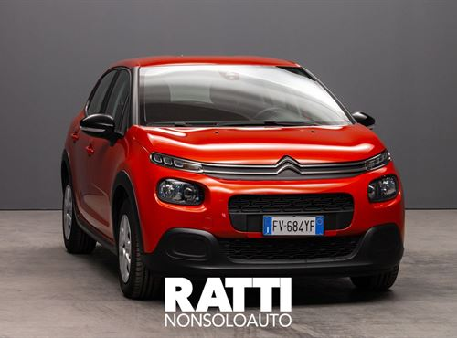 CITROEN C3 PureTech 1.2 110CV S&S EAT6 Feel ORANGE POWER cambio Automatico Benzina