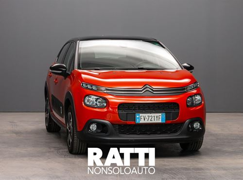 CITROEN C3 PureTech 1.2 82CV S&S Shine  ORANGE POWER cambio Manuale Benzina Aziendale berlina due volumi 5 porte 5 posti EURO 6