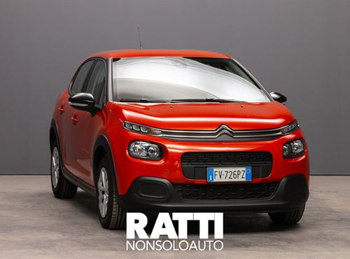 CITROEN C3 PureTech 1.2 110CV S&S EAT6 Feel ORANGE POWER cambio Automatico Benzina Aziendale berlina due volumi 5 porte 5 posti EURO 6