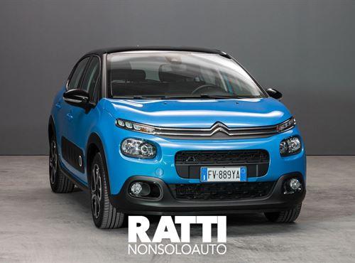 CITROEN C3 BlueHDi 1.5 100CV S&S Shine COBALT BLUE cambio Manuale Diesel