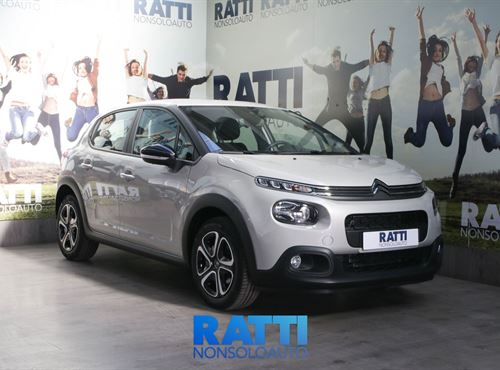 CITROEN C3 PureTech 1.2 82CV  Feel + Pack City Soft Sand  cambio Manuale Benzina Km 0 berlina due volumi 5 porte 5 posti EURO 6
