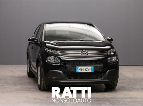 CITROEN C3 PureTech 1.2 82CV S&S Feel NIGHT BLACK cambio Manuale Benzina