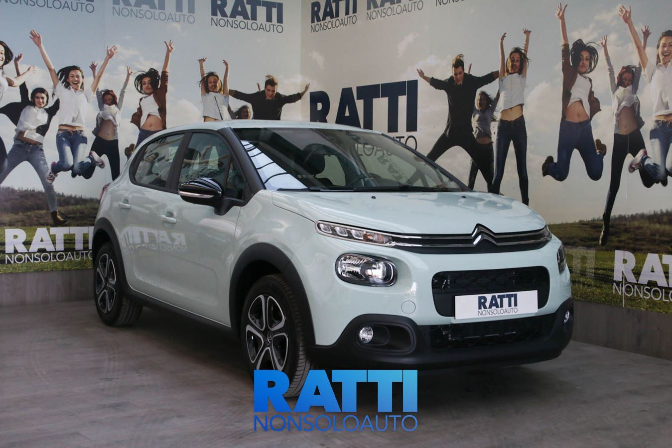 CITROEN C3 PureTech 1.2 68CV Feel Almond Green  cambio Manuale Benzina Km 0 berlina due volumi 5 porte 5 posti EURO 6