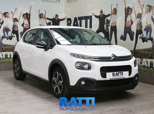 CITROEN C3 PureTech 1.2 82CV S&S Feel + PACK CITY Bianco  cambio Manuale Benzina Km 0 berlina due volumi 5 porte 5 posti EURO 6