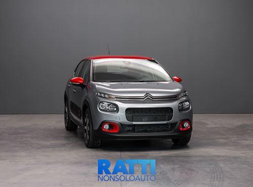 CITROEN C3 PureTech 1.2 110CV EAT6 Shine STEEL GREY/RED cambio Automatico Benzina Km 0 5 porte 5 posti EURO 6