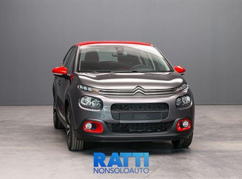 CITROEN C3 PureTech 1.2 83CV S&S Shine Grigio Platinum cambio MANUALE Benzina Km 0 5 porte 5 posti