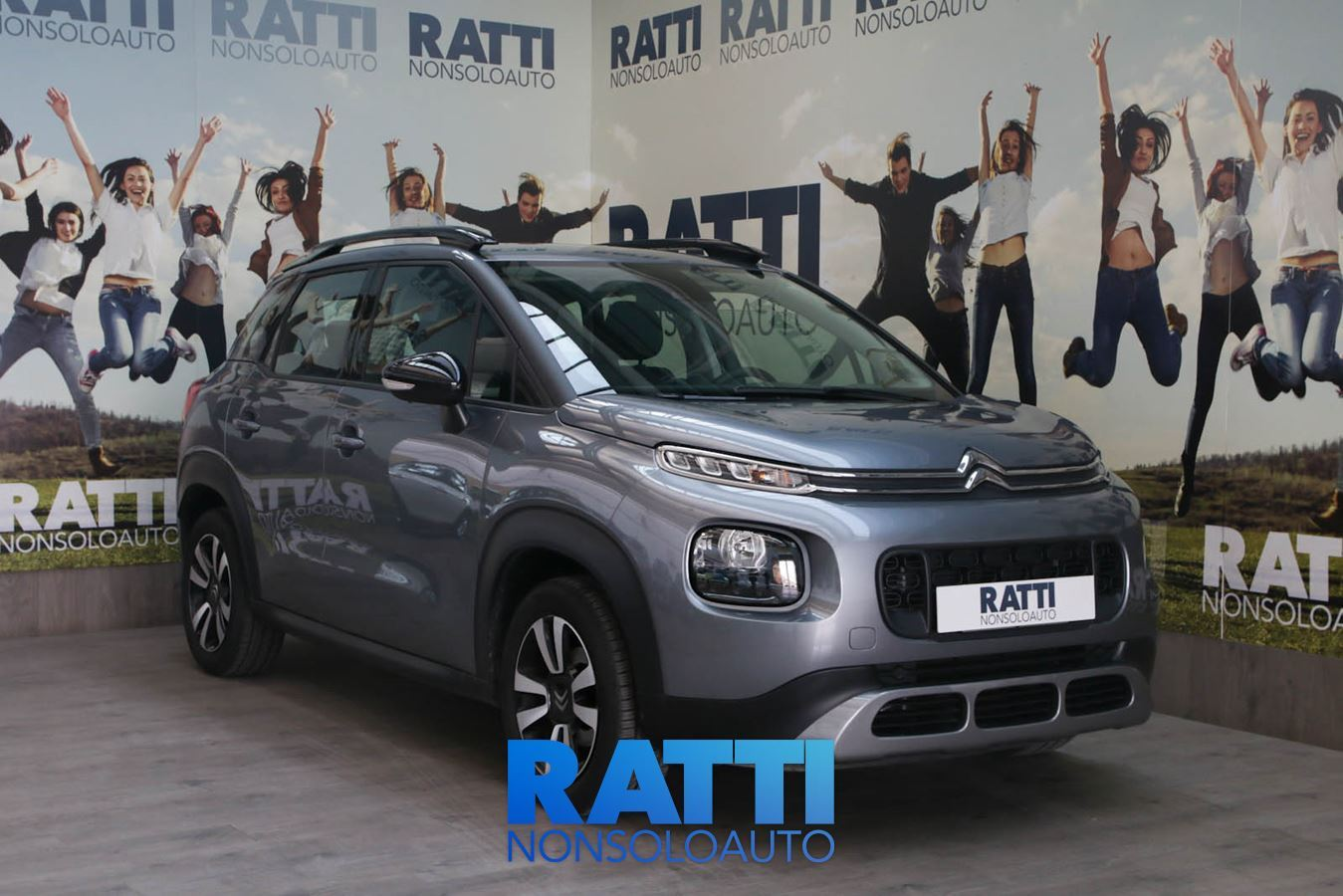 CITROEN C3 Aircross 1.6 BlueHDi 100CV Feel  Metallic Steel Grey  cambio Manuale Diesel Aziendale station wagon 5 porte 5 posti EURO 6