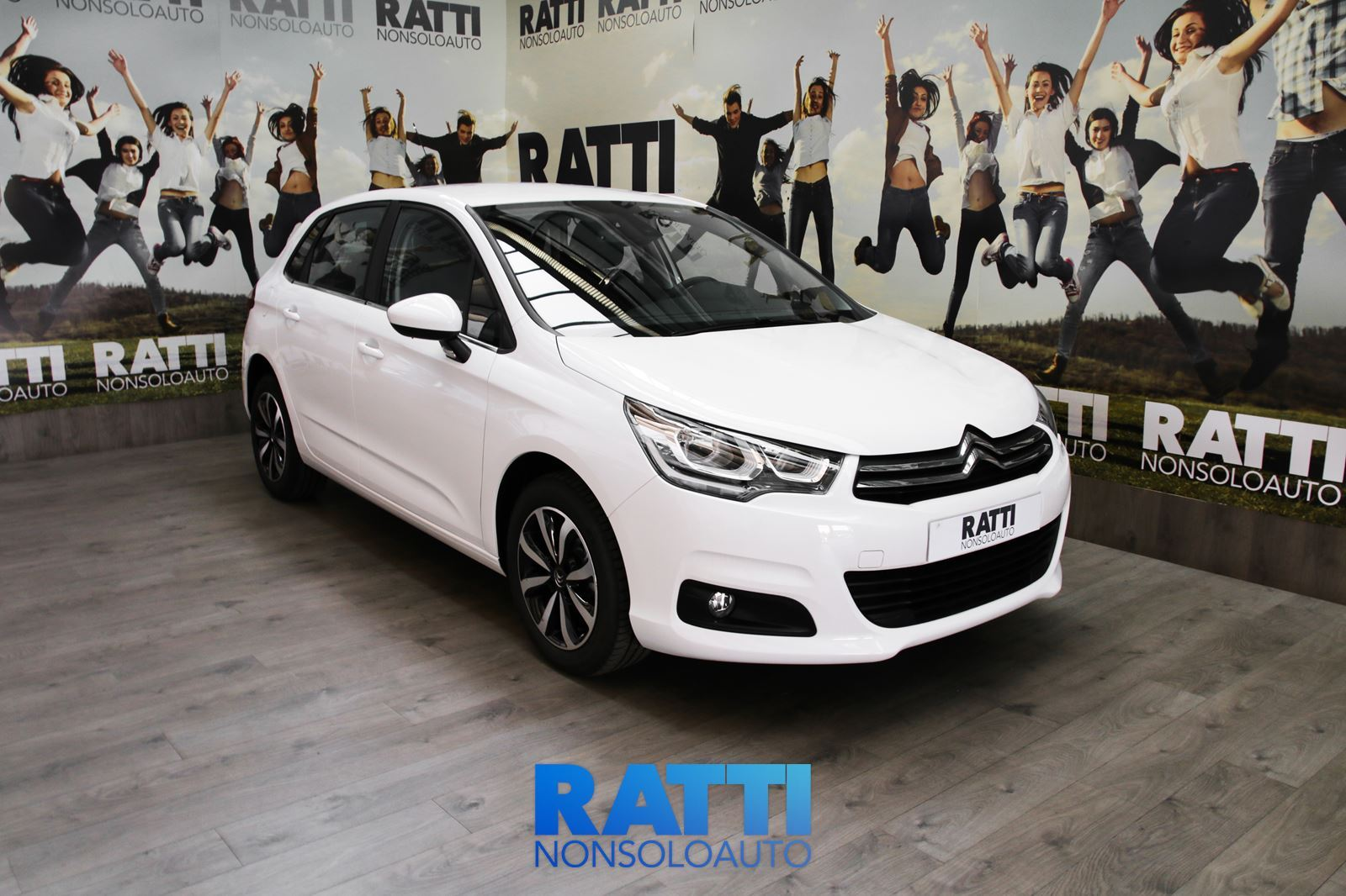 CITROEN C4 1.6 BlueHDi 100 CV Feel BIANCO BANCHISA cambio Manuale Diesel Km 0 berlina due volumi 5 porte 5 posti EURO 6
