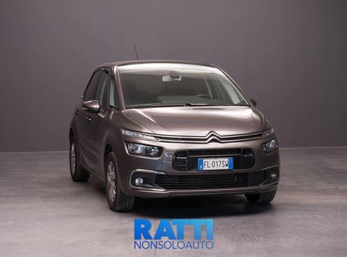 CITROEN C4 Picasso BlueHDi 1.6 120CV S&S Live Grigio Platinum cambio Manuale Diesel Usato ritirato multispazio 5 porte 5 posti EURO 6