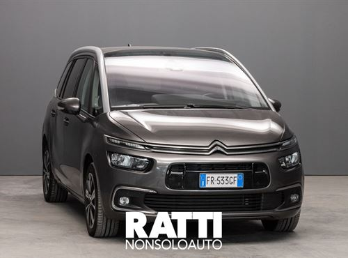 CITROEN Grand C4 SpaceTourer BlueHDi 2.0 150CV EAT6 Shine GRIGIO PLATINUM cambio Automatico Diesel