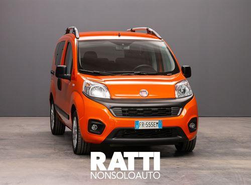 FIAT QUBO MJT 16V 1.3 95CV Lounge ARANCIO SICILIA cambio Manuale Diesel Aziendale multispazio 5 porte 5 posti EURO 6