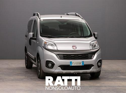FIAT QUBO MJT 16V 1.3 80CV Trekking GRIGIO MAESTRO cambio Manuale Diesel Aziendale multispazio 5 porte 5 posti EURO 6