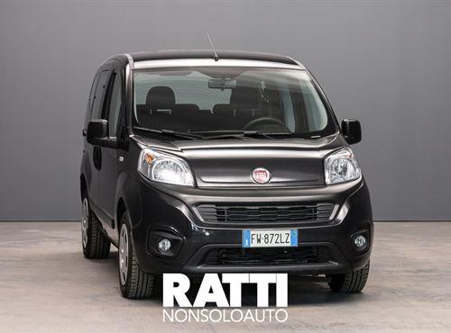 FIAT QUBO MJT E6 D-TEMP 1.3 80CV Lounge NERO TENORE cambio Manuale Diesel