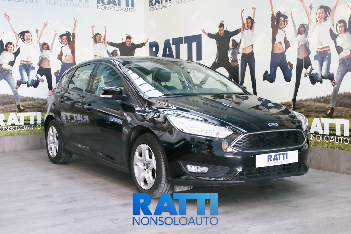 FORD Focus 1.5 TDCi 120CV Start&Stop Plus Shadow Black cambio Manuale Diesel Aziendale berlina due volumi 5 porte 5 posti EURO 6